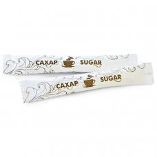Сахар в стиках 5 г, картонная упаковка, порционный, 200 пакетиков