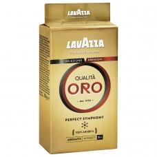 Кофе молотый LAVAZZA Лавацца 'Qualita Oro', натуральный, арабика 100%, 250 г, вакуумная упаковка, 1991