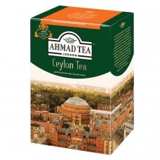 Чай AHMAD Ахмад 'Ceylon Tea OP', черный листовой, картонная коробка, 200 г, 1289