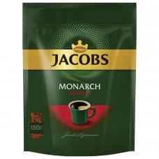 Кофе растворимый JACOBS MONARCH 'Intense', сублимированный, 150 г, мягкая упаковка, 37804