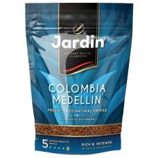 Кофе растворимый JARDIN 'Colombia medellin', сублимированный, 150 г, мягкая упаковка