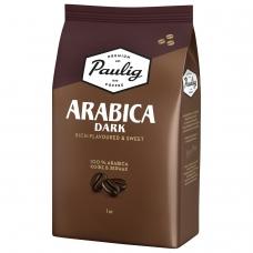 Кофе в зернах PAULIG Паулиг 'Arabica DARK', натуральный, 1000 г, вакуумная упаковка, 16608