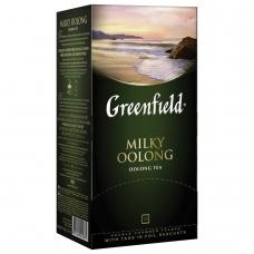 Чай GREENFIELD Гринфилд 'Milky Oolong' 'Молочный улун', улун с добавками, 25 пакетиков по 2 г, 1067-15
