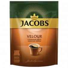 Кофе растворимый JACOBS 'Velour', 140 г, мягкая упаковка, 58874
