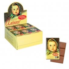 Шоколад КРАСНЫЙ ОКТЯБРЬ 'Аленка', 15 г, в шоубоксе, КО07747