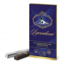 Шоколад БАБАЕВСКИЙ 'Вдохновение', классический, в стиках, 100 г, картонная упаковка, ББ08830