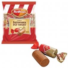 Конфеты шоколадные РОТ ФРОНТ 'Батончики', 250 г, пакет, РФ04274