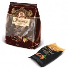 Конфеты шоколадные БАБАЕВСКИЙ, с трюфельным кремом, 200 г, пакет, ББ16456