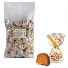 Конфеты шоколадные РОТ ФРОНТ 'Коровка любимая', кремовая, 1000 г, пакет, РФ13338