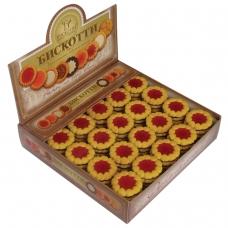 Печенье БИСКОТТИ 'Коста браво', с вишневым мармеладом, глазированное, 2 кг, шоу-бокс