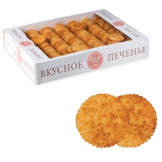 Печенье БИСКОТТИ 'Творожное', сдобное, 1,8 кг, весовое, гофрокороб