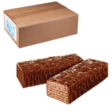 Вафли ЯШКИНО 'Глазированные с орешками', весовые, гофрокороб, 4 кг, ЯВ217