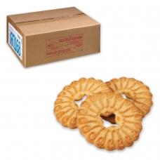 Печенье ЯШКИНО Райский день, сахарное, с сахарное посыпкой, весовое, гофрокороб, 3,5 кг, ЯП168