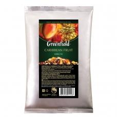 Чай GREENFIELD Гринфилд 'Caribbean Fruit', фруктовый, манго/ананас, листовой, 250 г, пакет, 1144-15