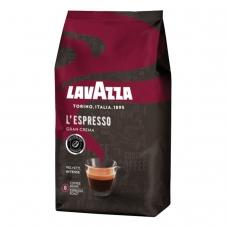 Кофе в зернах LAVAZZA Лавацца Gran Crema, натуральный, 1000 г, вакуумная упаковка, 2485