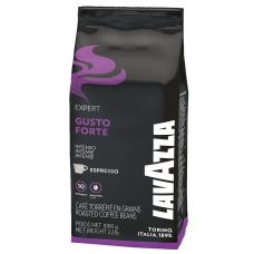 Кофе в зернах LAVAZZA Лавацца Gusto Forte Expert, натуральный, 1000 г, вакуумная упаковка, 2868
