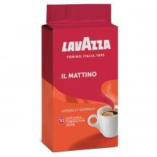 Кофе молотый LAVAZZA Лавацца 'Mattino', натуральный, 250 г, вакуумная упаковка, 3201