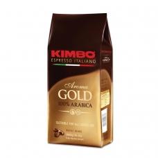 Кофе в зернах KIMBO 'Aroma Gold Arabica' Кимбо 'Арома Голд Арабика', натуральный, 1000 г, вакуумная упаковка