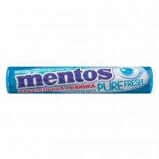 Жевательная резинка MENTOS Pure Fresh Ментос 'Ролл Свежая Мята', 15,5 г, 87545