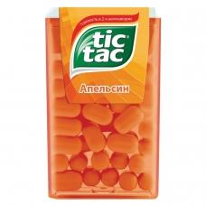 Драже TIC TAC Тик Так, со вкусом апельсина, 16 г, пластиковая баночка, 77133491