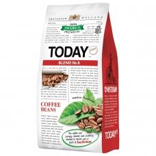 Кофе в зернах TODAY 'Blend №8', натуральный, 800 г, 100% арабика, вакуумная упаковка, ш/к 70639, ТО80004003