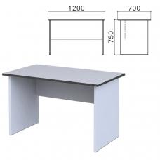 Стол письменный Монолит, 1200х700х750 мм, цвет серый, СМ1.11
