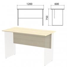Столешница, царга стола письменного 'Канц' 1200х600х750 мм, цвет дуб молочный, СК22.15.1