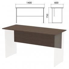 Столешница, царга стола письменного 'Канц' 1400х600х750 мм, цвет венге, СК21.16.1