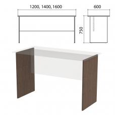 Опоры ЛДСП к столам письменным 'Канц' шириной 1200, 1400, 1600 мм, цвет венге, СК20.16.2
