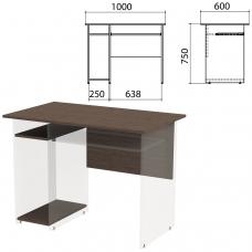 Столешница, царга стола компьютерного 'Канц' 1000х600х750 мм, цвет венге, СК24.16.1