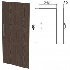 Дверь ЛДСП низкая 'Канц' 346х16х698 мм, цвет венге, ДК32.16