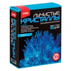 Набор для изготовления лучистых кристаллов 'Синий кристалл', реагент, краситель, основа, LORI, Лк-002