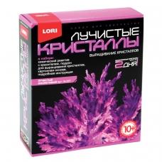 Набор для изготовления лучистых кристаллов 'Фиолетовый кристалл', реагент, краситель, LORI, Лк-007