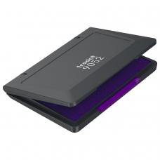 Штемпельная подушка TRODAT, 110x70 мм, фиолетовая, 9052ф