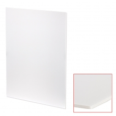 Пенокартон матовый, 50х70 см, толщина 3 мм, белый, КОМПЛЕКТ 5 листов, BRAUBERG, 112470